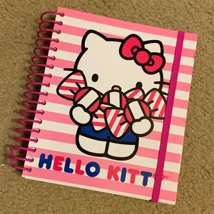 NEW Hello Kitty customizable 6x7 agenda